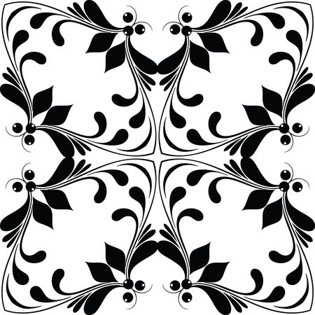Free Clipart Of A floral design element