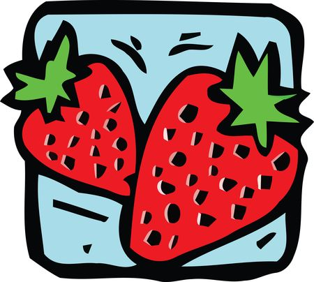 Free Clipart Of strawberries