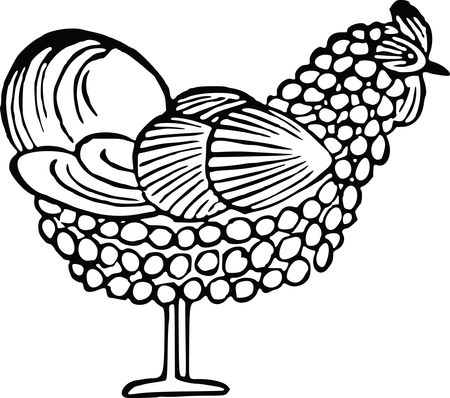 Free Clipart Of A chicken