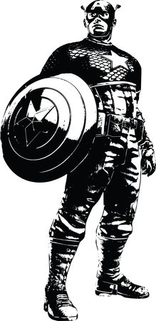 Free clipart of captain america