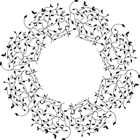 Free Clipart Of a Decorative Border