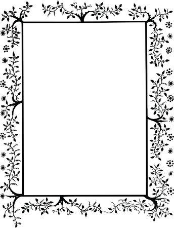 Free Clipart Of a Decorative Border