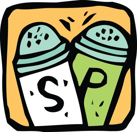 Free Clipart Of salt and pepper