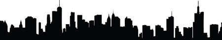 Free Clipart Of a silhouetted city