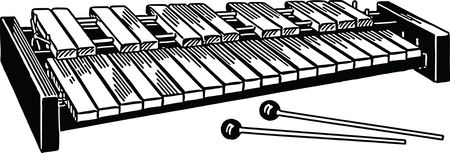 Free Clipart Of A xylophone