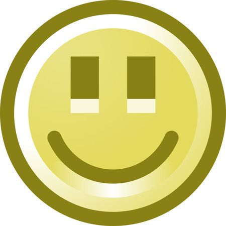 laughing face clip art. smiling face icon