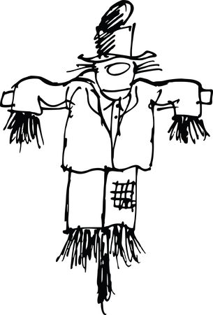 Free Clipart Of A scarecrow