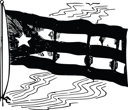 Free Clipart Of A cuban flag