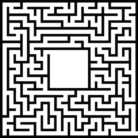 Free Clipart Of a maze