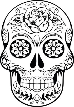 Free Clipart Of a sugar skull