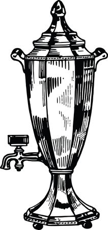 Free Clipart Of a vintage urn