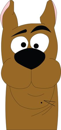 Free Clipart of a Scooby-Doo dog