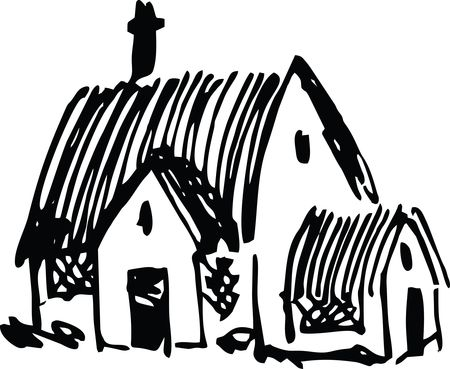 Free Clipart of a church