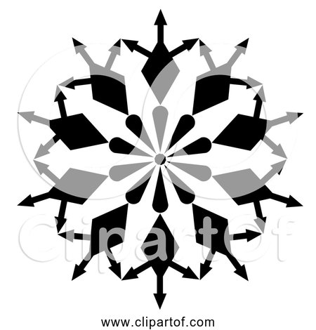 Free Clipart Of an Abstract Roundel Icon