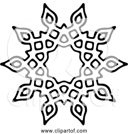 Free Clipart Of Sun Icon - Black and White