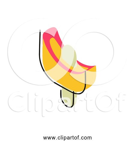 Free Clipart Of Yellow Ice Cream Bar Version 5 of 5