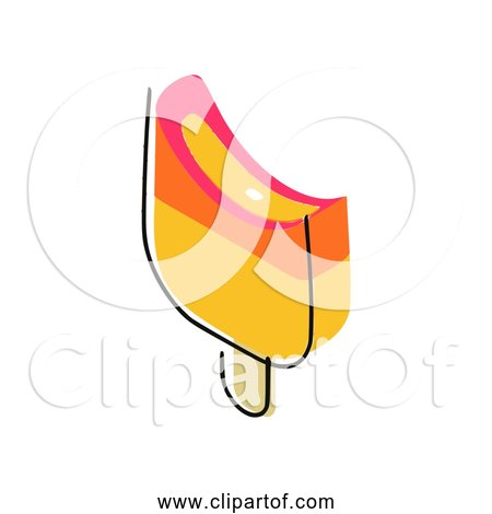 Free Clipart Of Yellow Ice Cream Bar Version 4 of 5