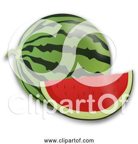 Free Clipart of Water Melon