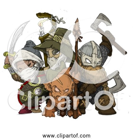 Free Clipart of Attack the Tower 3rd Gen