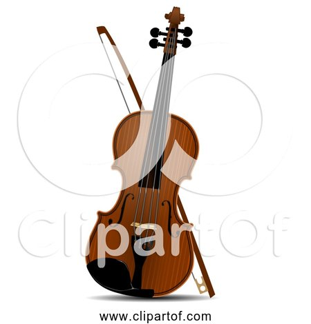 Free Clipart of Violin