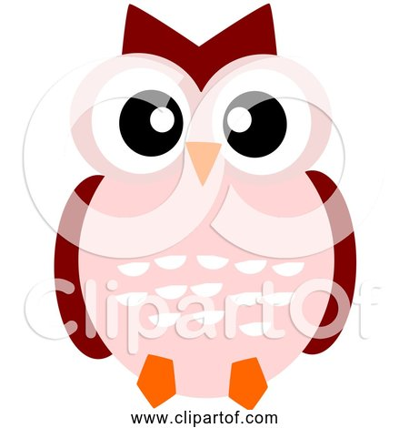 Free Clipart of a Cute Cartoon Owl