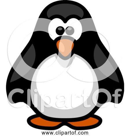Free Clipart of Little Cartoon Penguin
