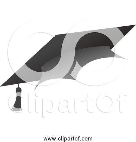 Free Clipart of an Academic Graduation cap
