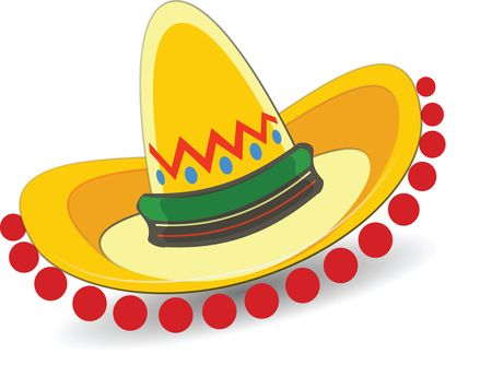 Free Clipart Of A Mexican Sombrero