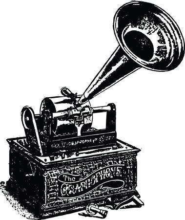 Free Clipart of a Gramaphone