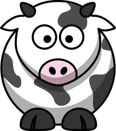 Free Cartoon Cow Clip Art