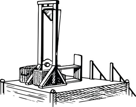 Free Clipart Of A Guillotine