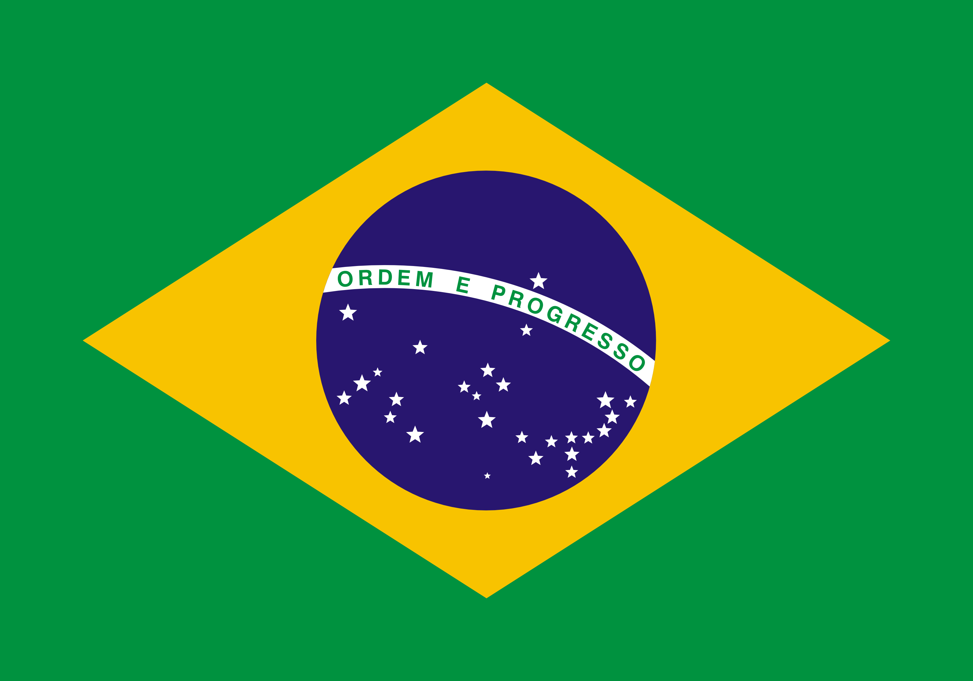 Free Bandeira Do Brasil Flag Of Brazil Clipart Illustration By