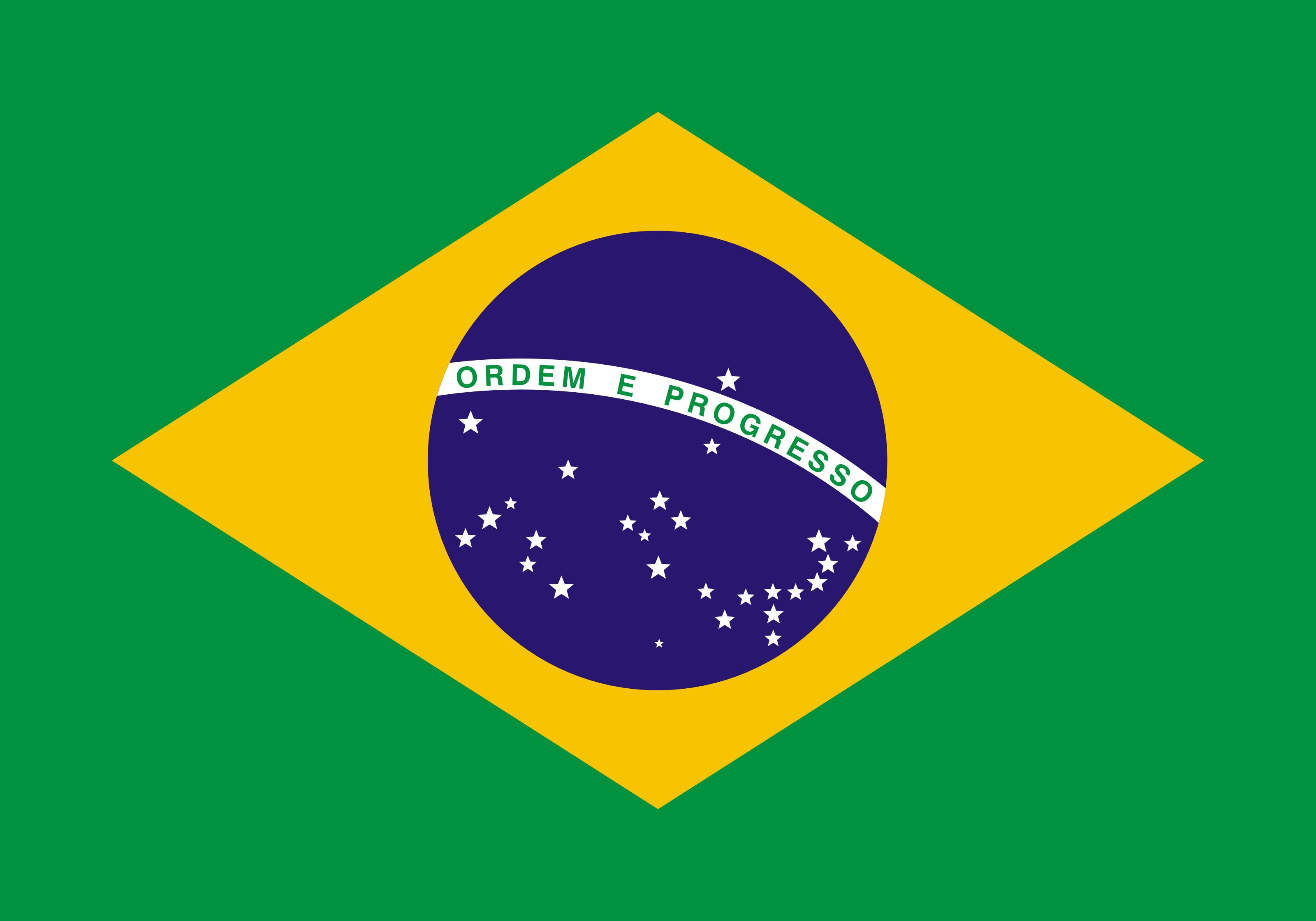 Free Bandeira Do Brasil Flag Of Brazil Clipart Illustration By