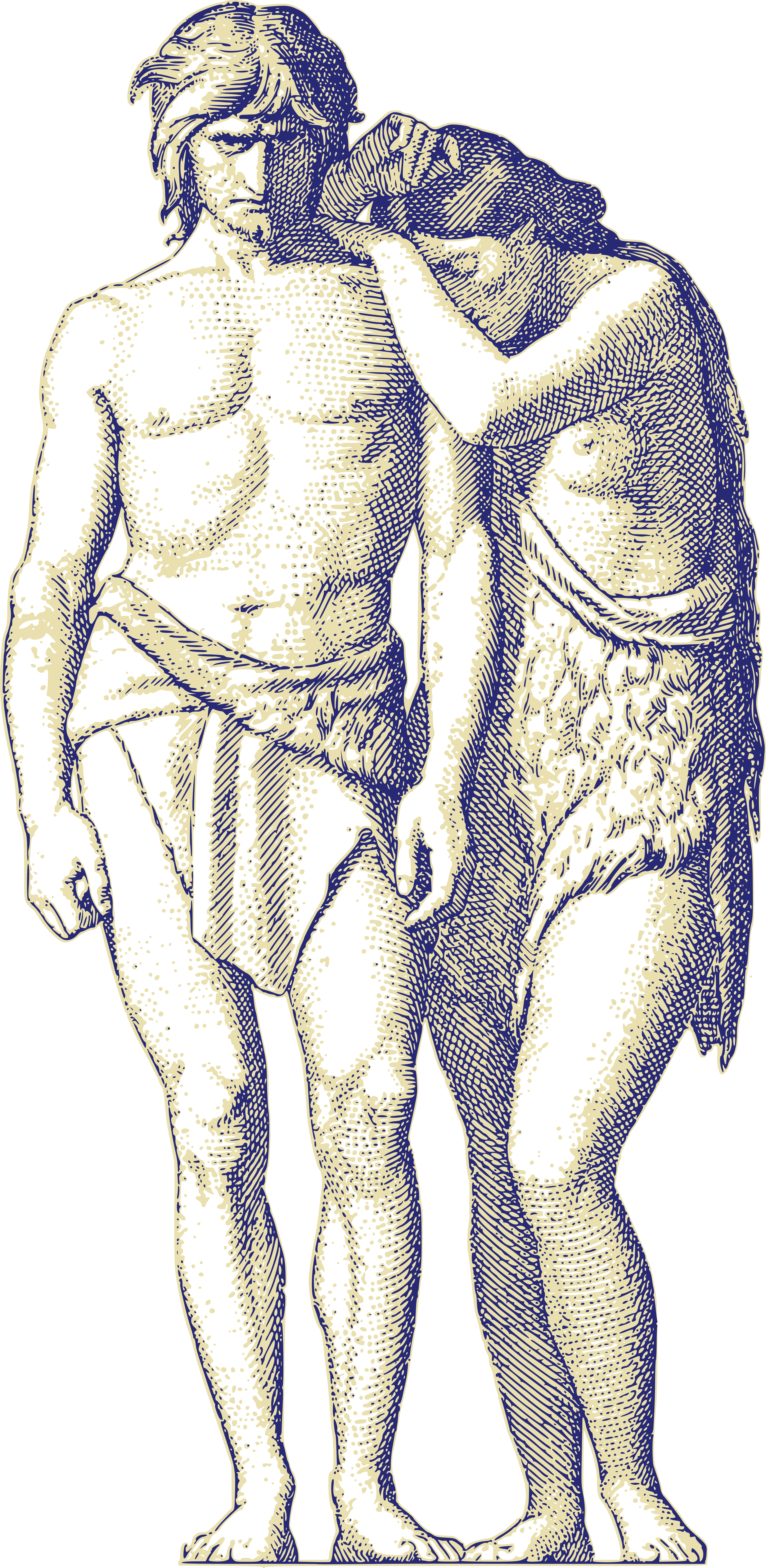 Free Clipart Of Adam And Eve