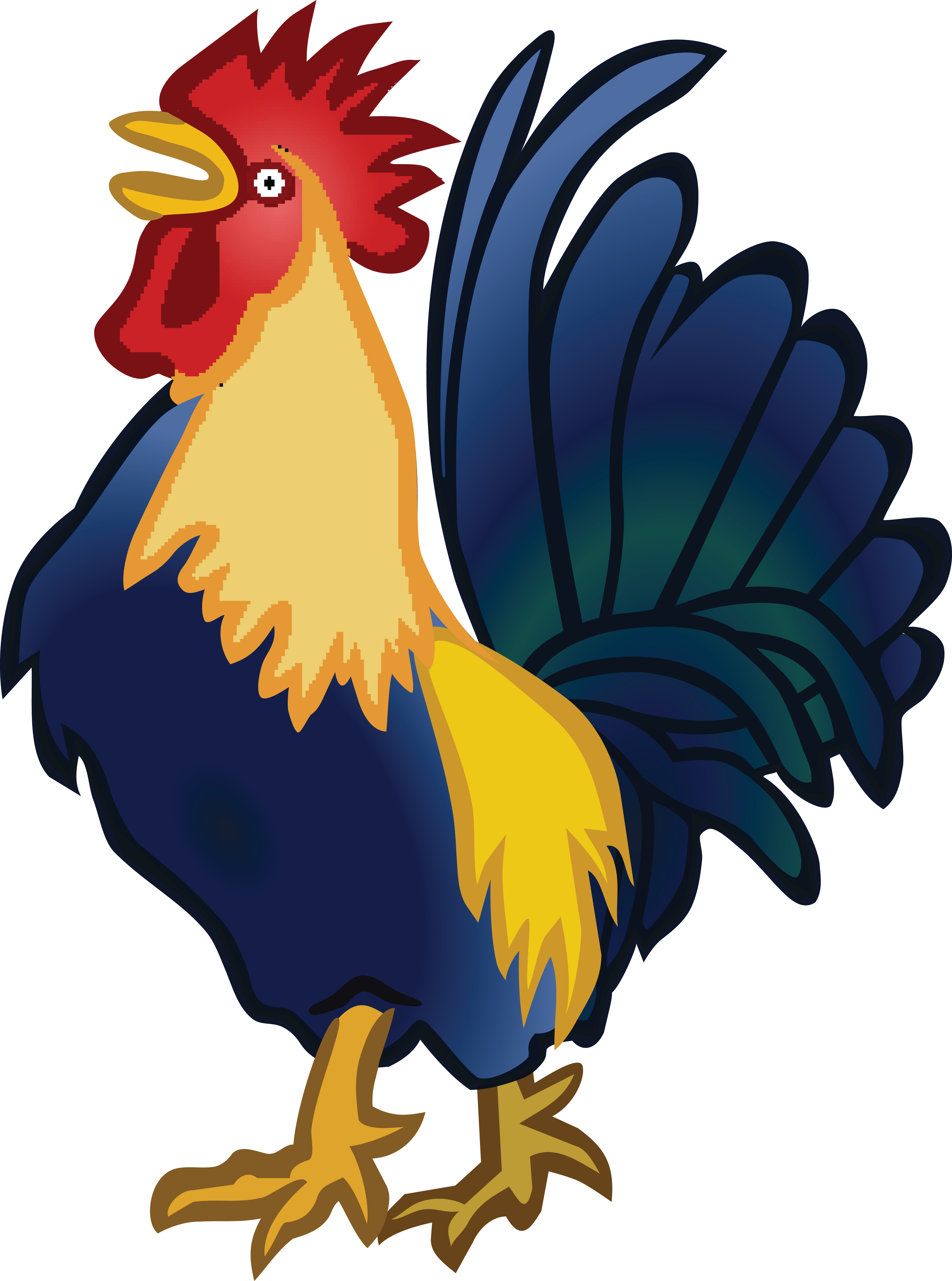 free clipart of a rooster rh free clipartof com
