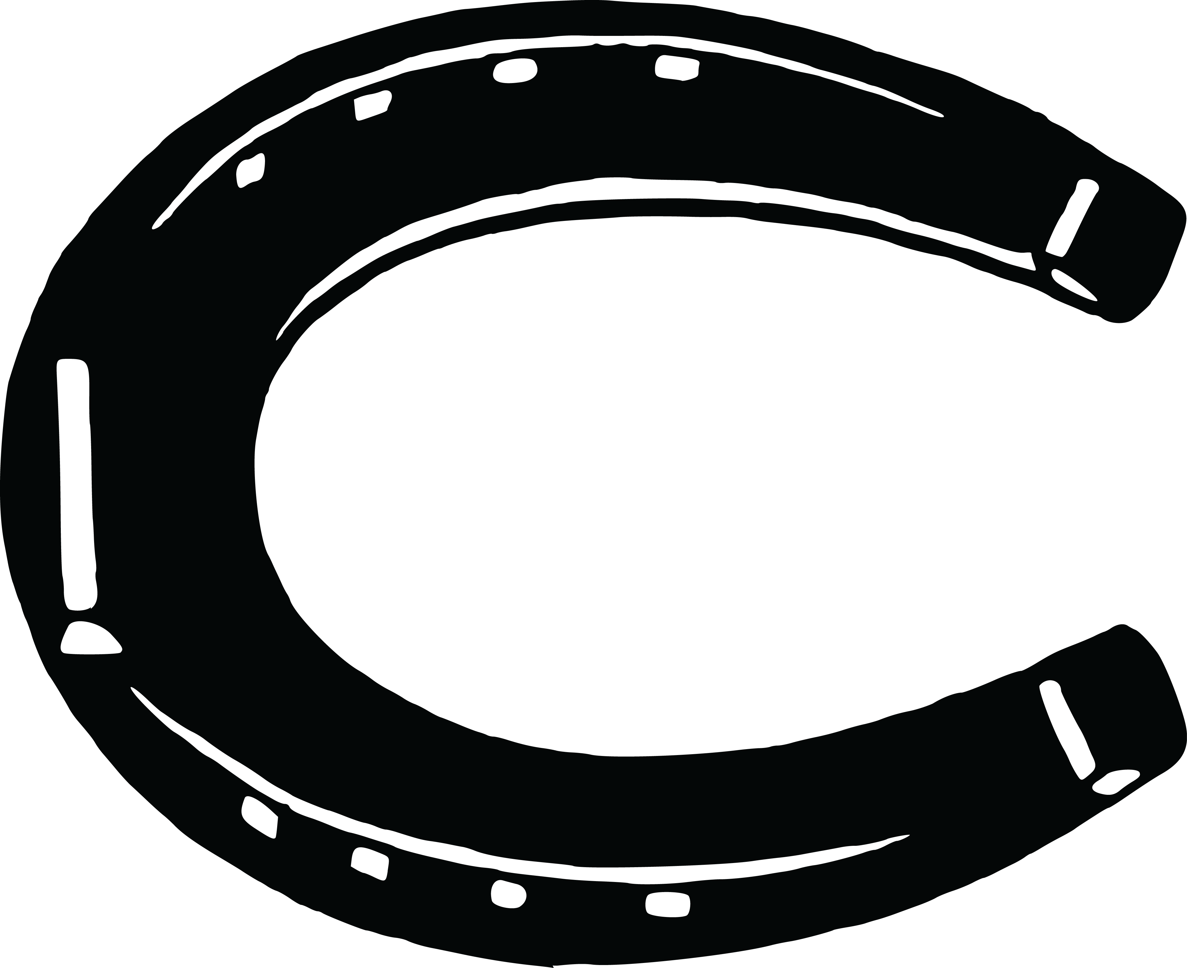 free clipart of a horseshoe rh free clipartof com horseshoe clip art vector free horseshoe clip art vector free