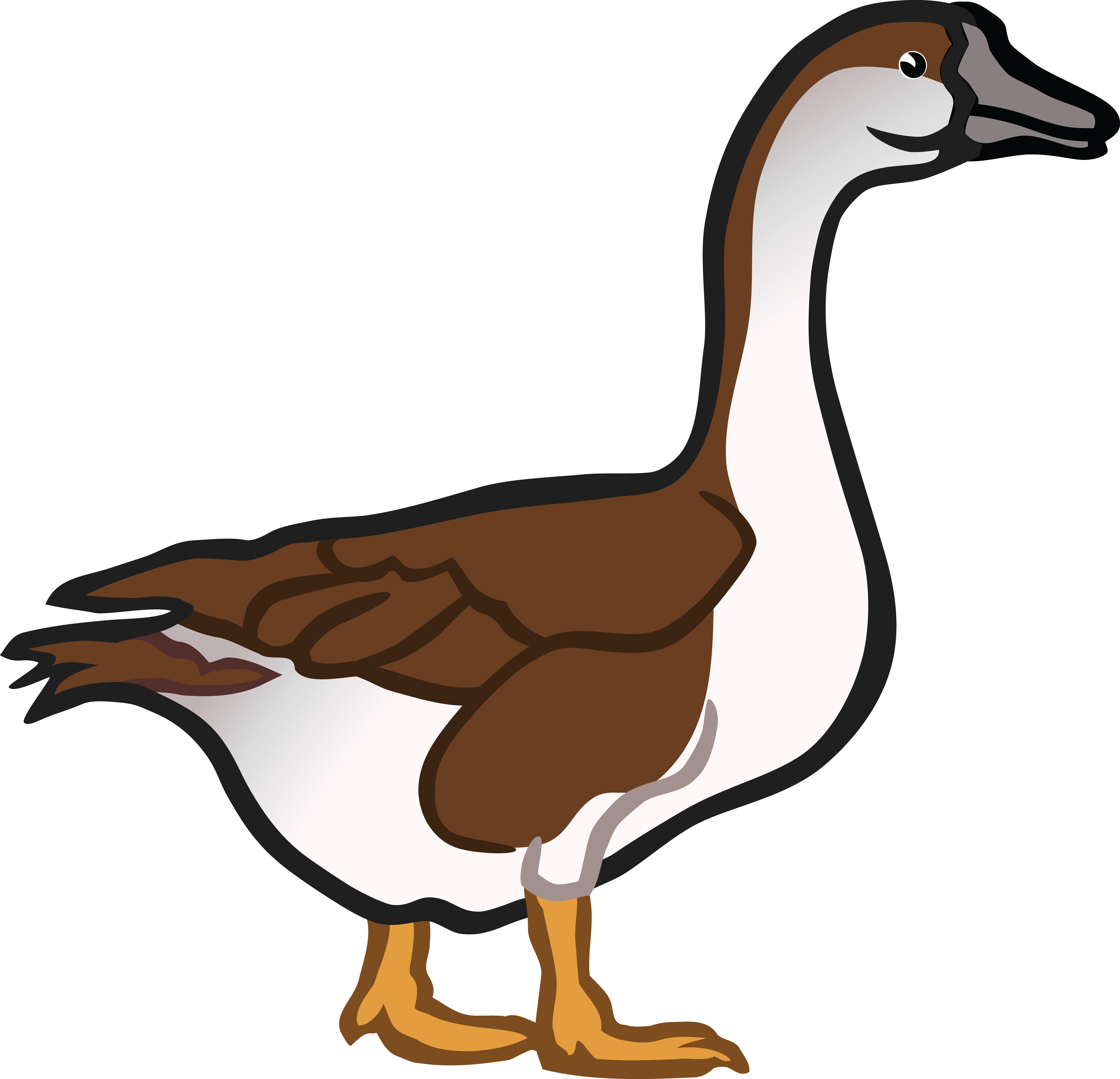 goose hunting clipart - photo #4