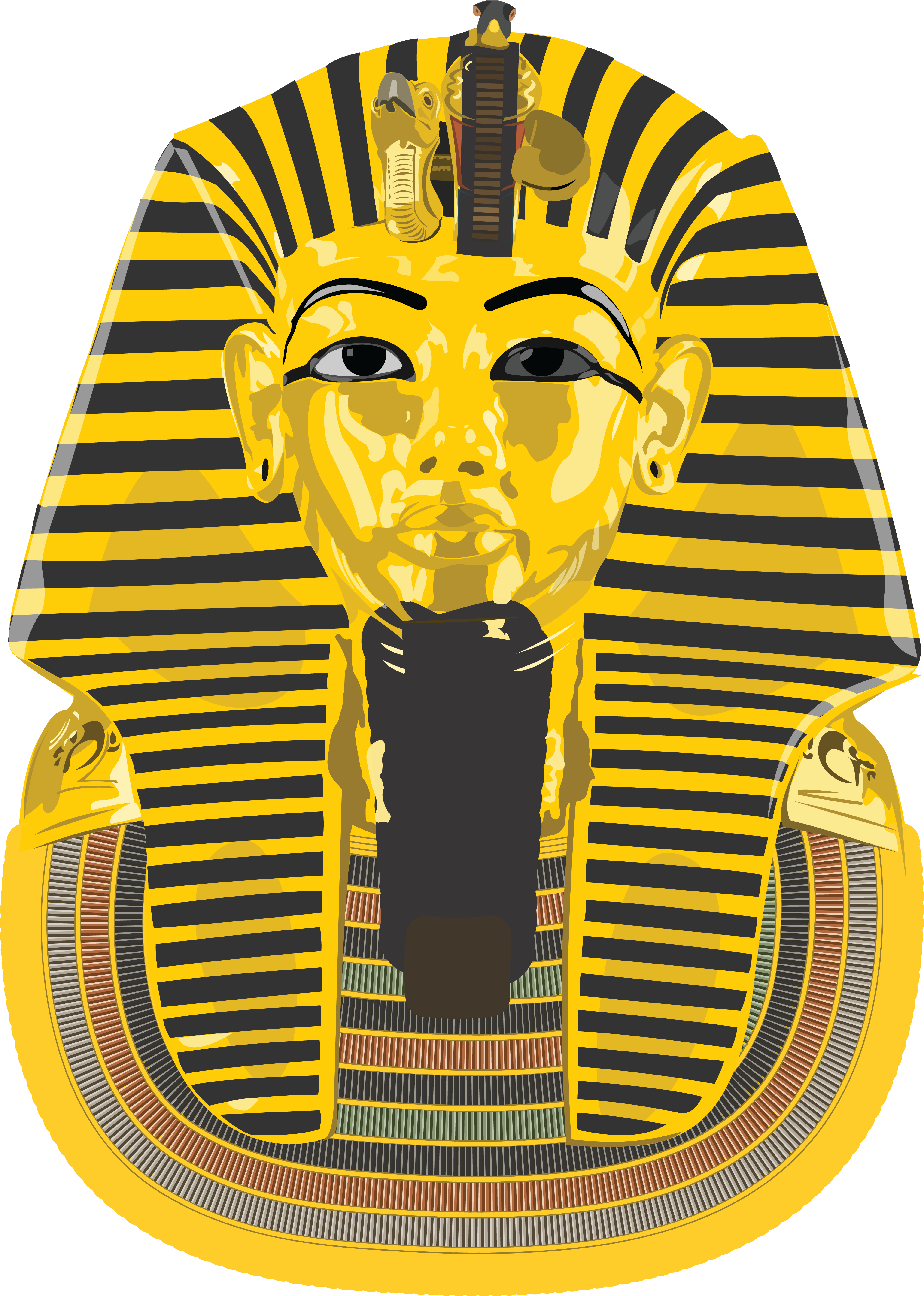 free clipart of an ancient egyptian death mask for king tutankhamun rh free clipartof com ancient egypt clothing clipart ancient egypt clipart free