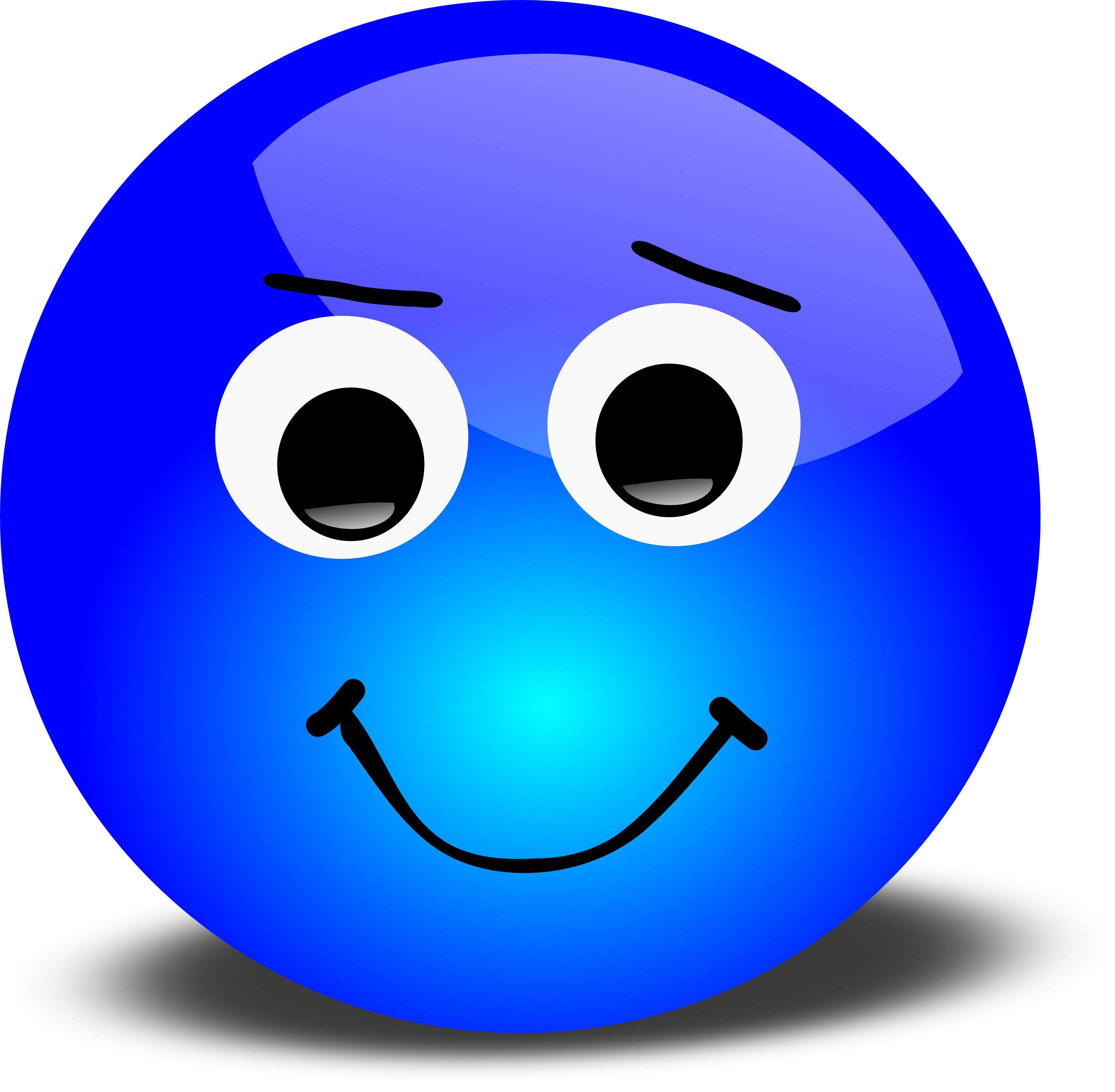 free 3d disagreeable smiley face clipart illustration rh free clipartof com