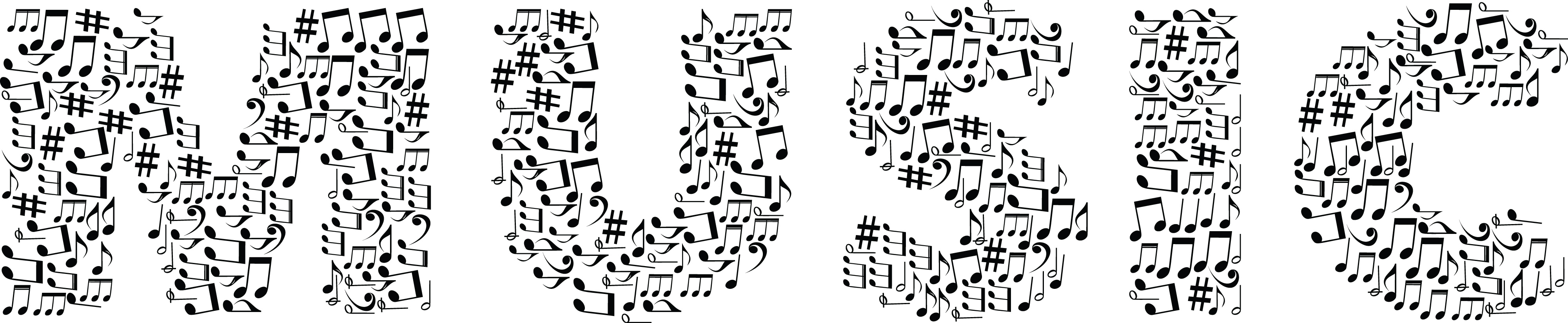 musical notes word