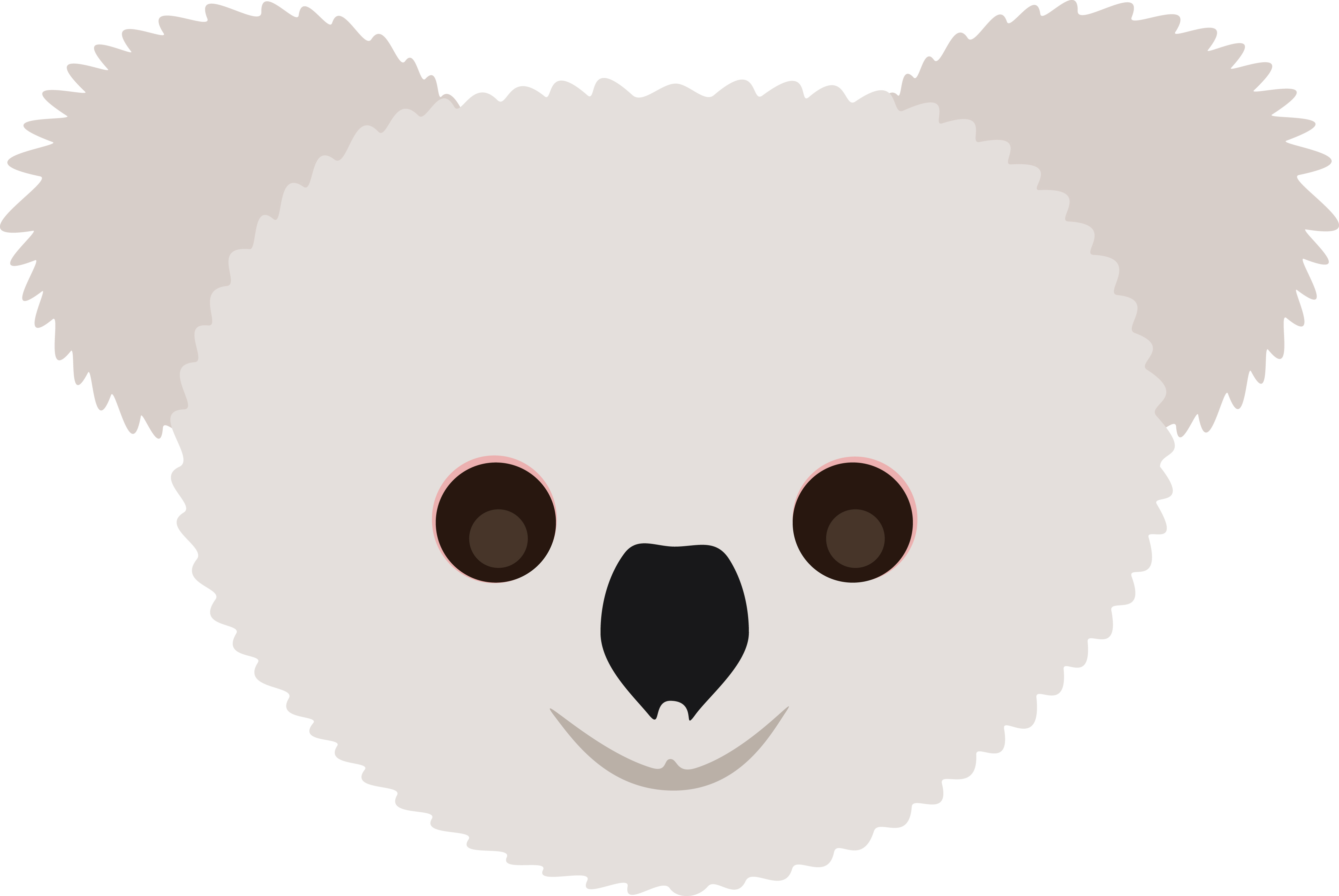 Download Free Clipart Of A koala face