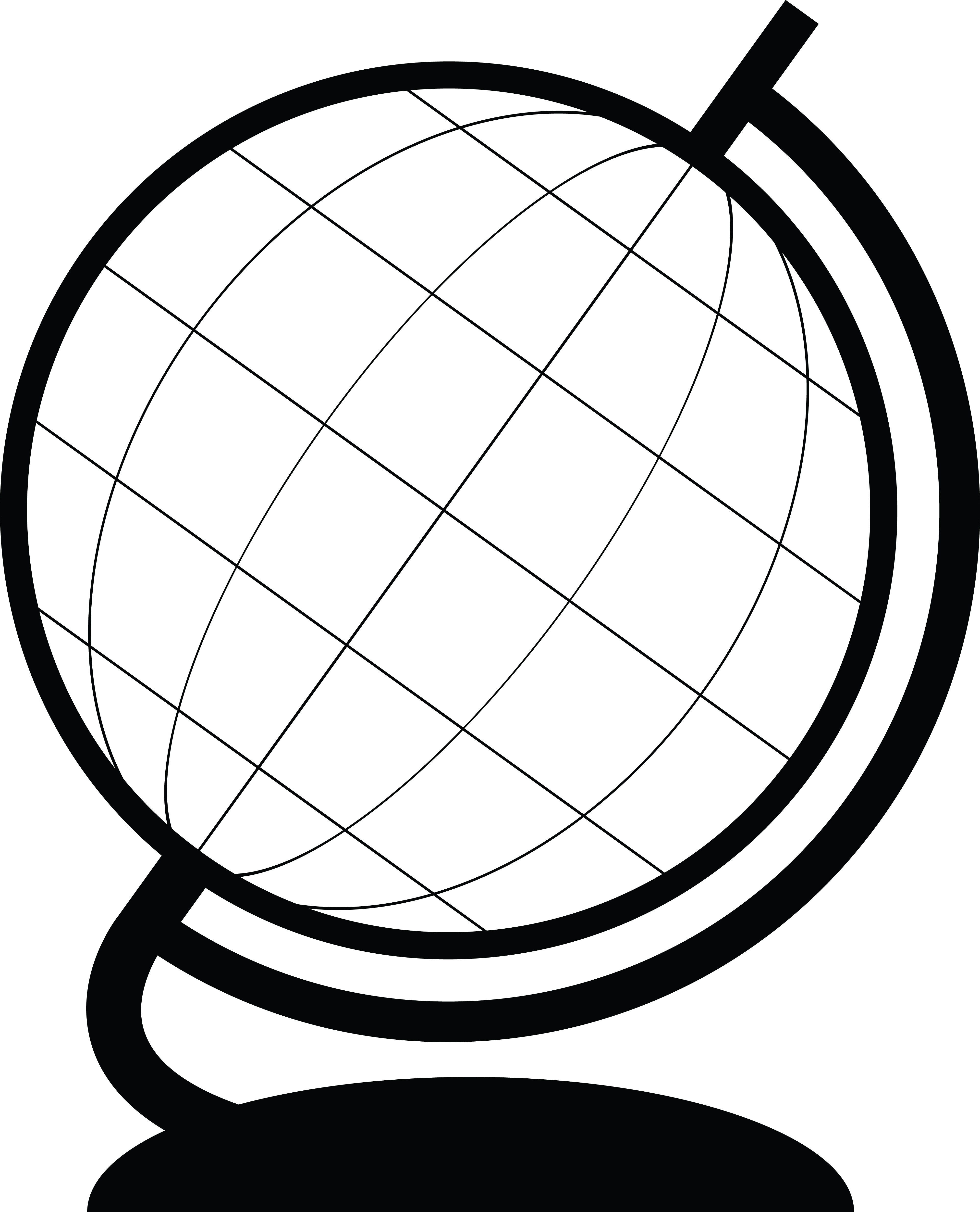 Excellent Oval Wire Globe Clip Art Gallery